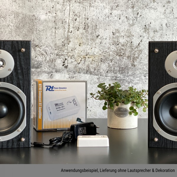 Power Dynamics BT10 Kompakt Bluetooth Verstärker