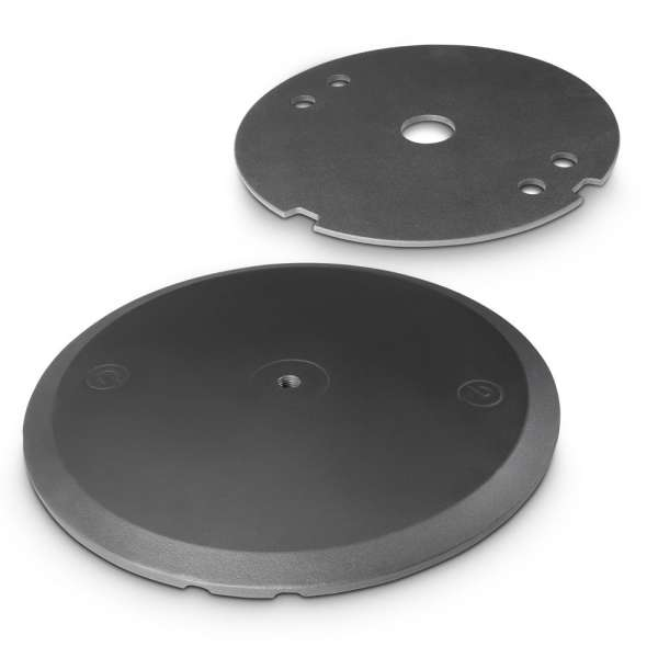 Gravity WB 123 SET 1 B Tellerfuß mit Gewichtsscheibe für M20-Stativstangen