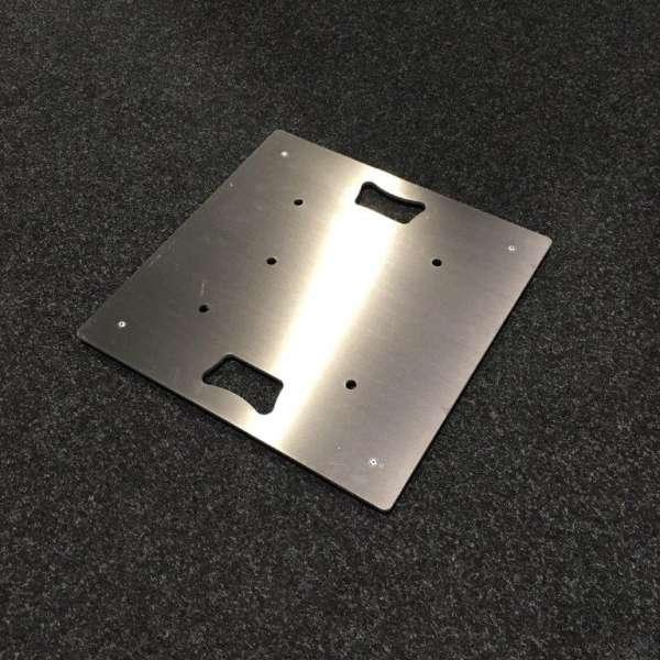 Traversen Bodenplatte Alu 50 x 50cm