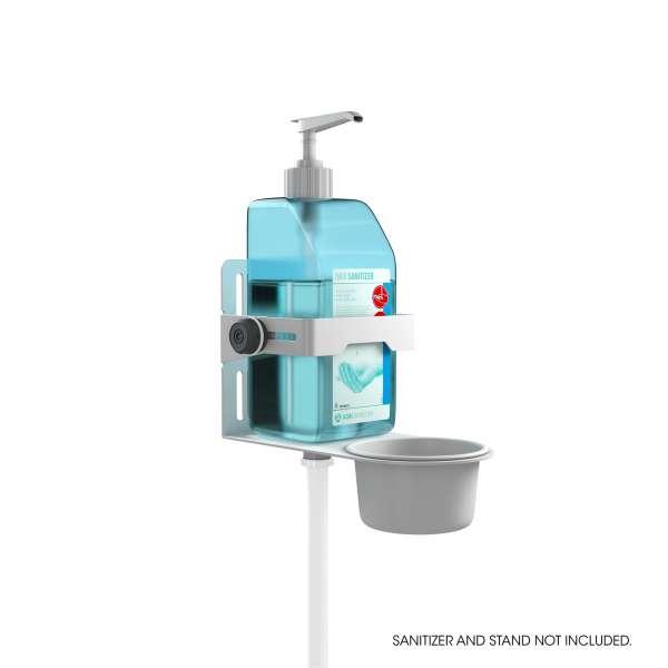 Gravity MA DIS 01 B Universaler Desinfektionsmittel Halter Weiß