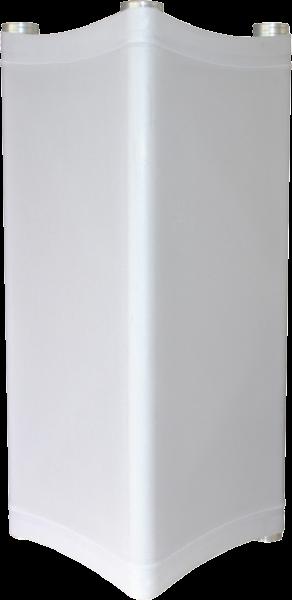 "LYCRA TRAVERSENHÜLLE ""LYCRA-SQ-1M"" (RECHTECKIG), 1m, weiß"
