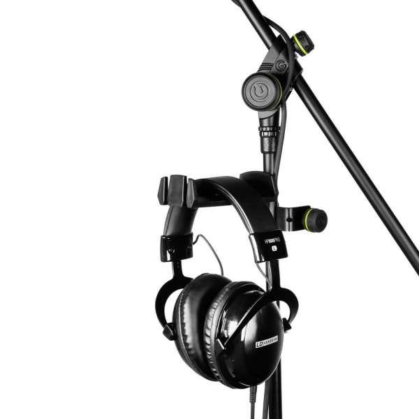 Gravity HP HMS 01 B Kopfhörerhalter für Mikrofonstativ-Montage
