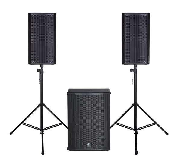 dB Technologies OPERA 15 Entertainer Set