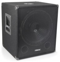 Vonyx SMWBA15 aktiv Party Subwoofer Bi-AMP 15""