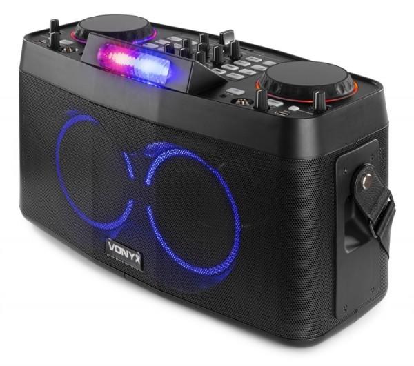 Vonyx CDP800 mobiles Entertainment DJ Akku System
