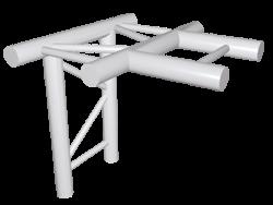 ExpoTruss X2K-30 Alu 2-Punkt T-Stück horizontal