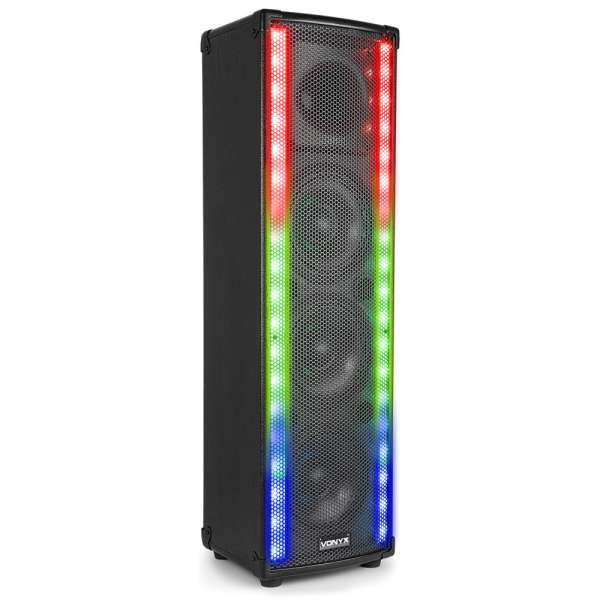 Vonyx LightMotion Portable PA Lautsprecher LM65 400W