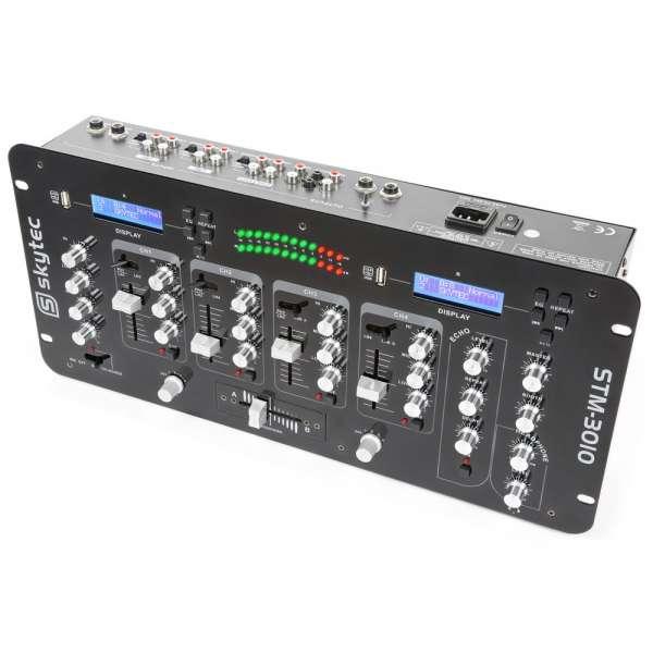SkyTec STM-3010 4-Kanal Mischpult mit USB/MP3