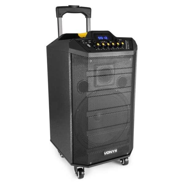 Vonyx VPS10 Tragbares Soundsystem 10'' mit Akku und Bluetooth