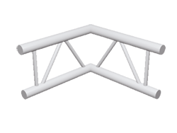 ExpoTruss X2K-30 Alu 2-Punkt Winkel 90Grad vertikal