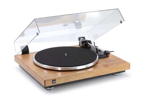 Dual CS 465 Schallplattenspieler Kirschbaum Made in Germany