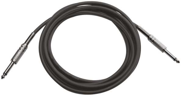 T&M Cable IPP110 Instrumentenkabel 10m Mono Klinke 6,3mm Stecker - Mono Klinke 6,3mm Stecker