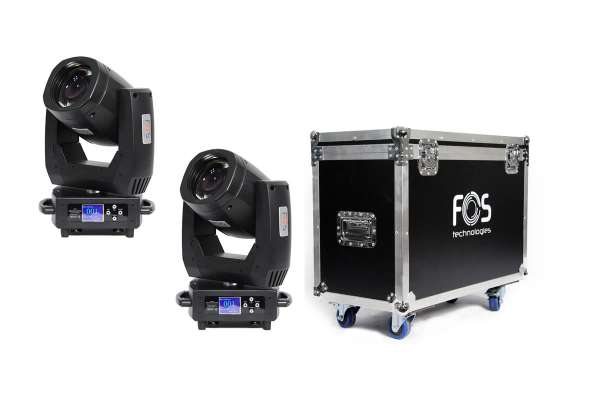 FOS Beam 150 Set Moving Head Set 2x Beam 150 + Tourcase