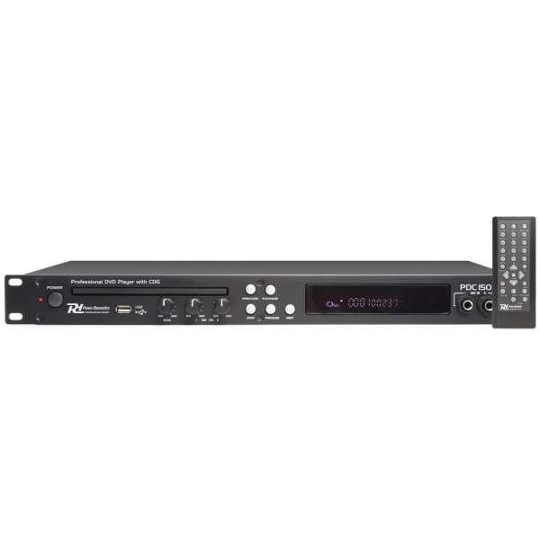 Power Dynamics PDC150 19'' DVD-Spieler mit CD+G und USB