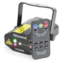BeamZ Titania Double Laser 200mW RG Gobo IRC