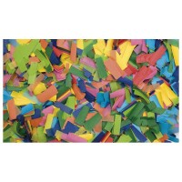 Showtec Multicolor Confetti 55x17mm slowfall 1kg B1