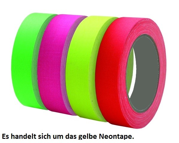 Chess Tools CT-223 Neontape 25M/19MM gelb