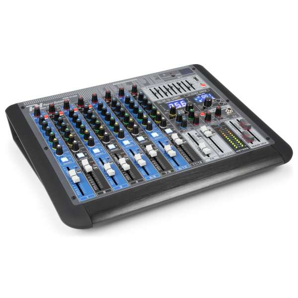 Power Dynamics PDM-S1204 12-Kanal Professioneller Analog Mixer