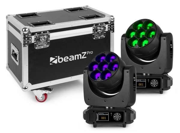 BeamZ Professional MHL740 Tourset im Case