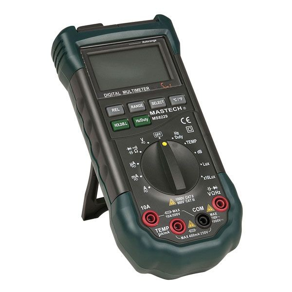 SHOWTEC Digital Roady Multimeter 5 in 1
