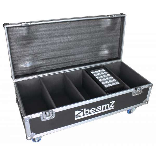 BeamZ Professional Flightcase FL4 für 4x Star-Color 240 oder 360 Wash Lights