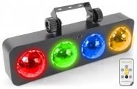 BeamZ LED DJ Bank BX 4 RGBA Lichteffekt mit Fernbedienung