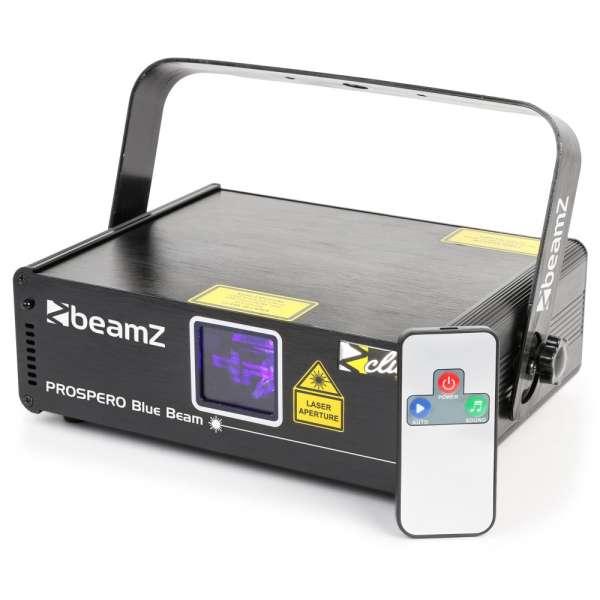 BeamZ Prospero II Laser 150mW Blue Beam DMX IRC