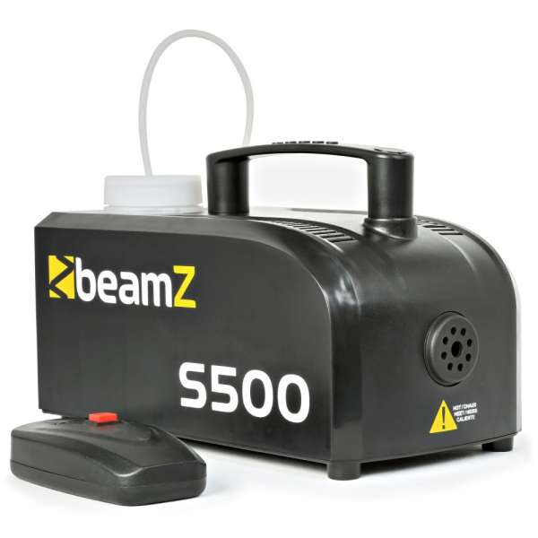 BeamZ S500 Kunststoff Nebelmaschine inklusive Nebelöl
