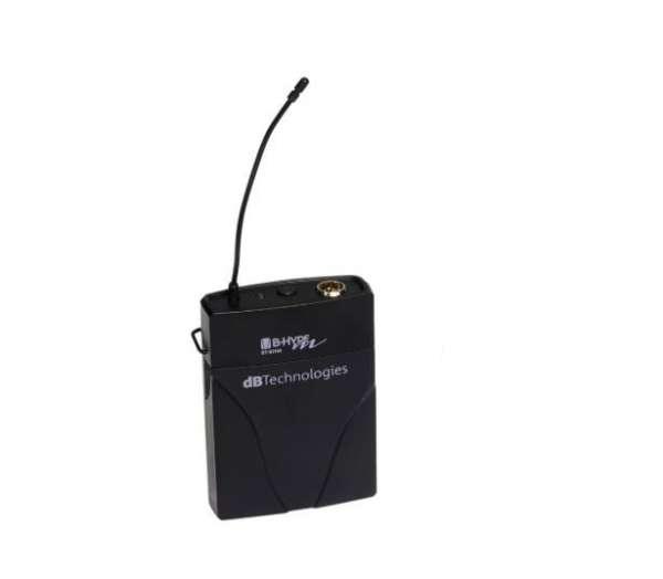 dB Technologies BT-BHM Bodypack Transmitter UHF ISM-Band für B-Hype Mobile