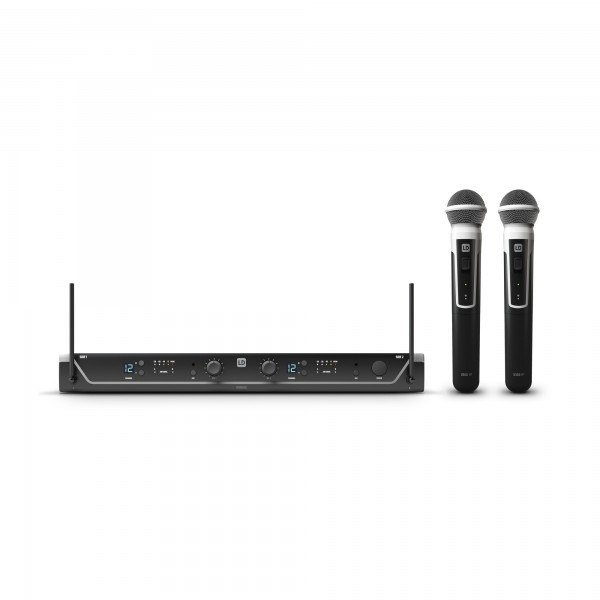 LD Systems U304.7 HHD 2 Dual - Funkmikrofon System mit 2 x Handmikrofon dynamisch