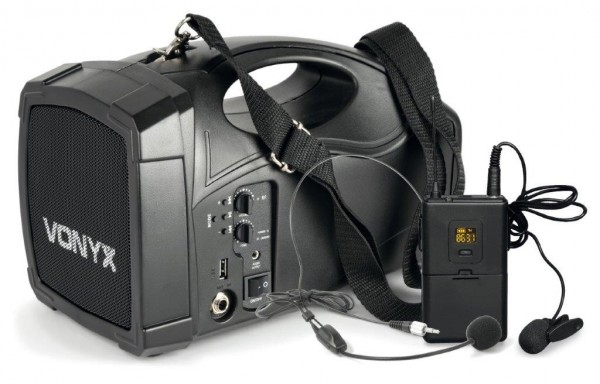 Vonyx ST012 Personal PA Wireless System UHF