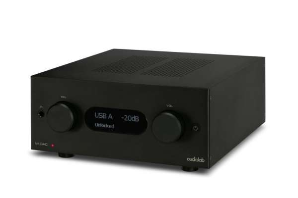 Audiolab M-DAC+  Aluminum Black
