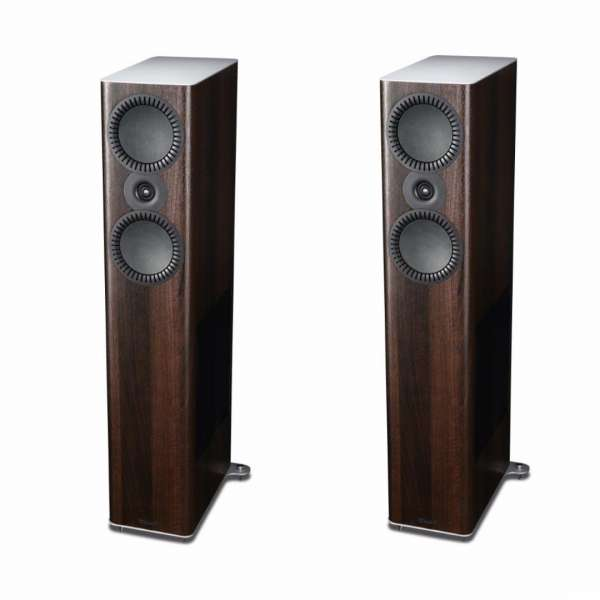 Mission QX-5 3-Wege Standlautsprecher (Paar) Walnut Pearl