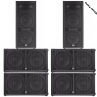 Wharfedale Pro Delta X215 Fullstack PA Set