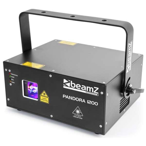 BeamZ Professional Pandora 1200 TTL Laser RGB