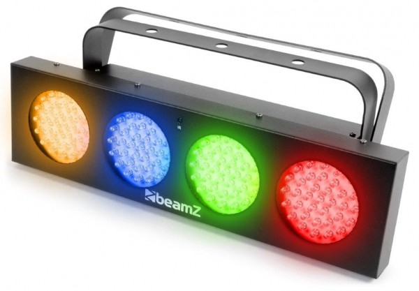 BeamZ LED DJ Bank 132 LED RGBA Lichtorgel