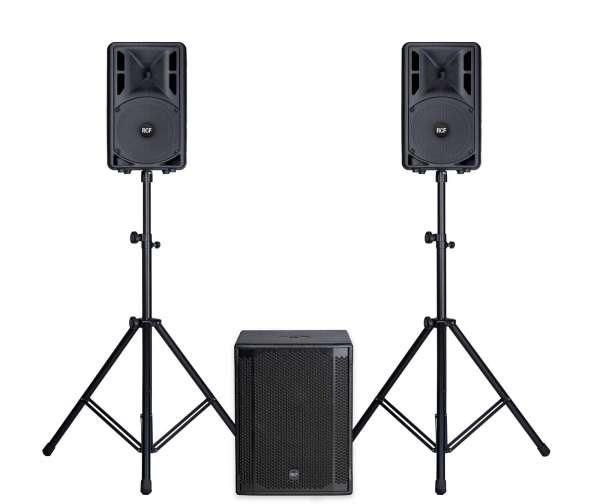RCF ART 310-A MKIV Entertainer PA Set