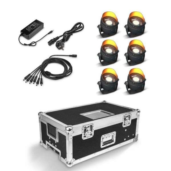 Cameo DROP B1 Touring Set 6er Set inkl Flightcase mit Netzteil