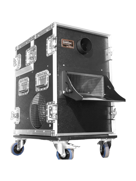HAZEBASE base*touring, Nebelmaschine 2600W, 230V/50Hz, Lüfter 700W, Amptown Case