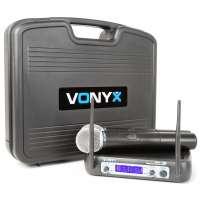 Vonyx WM512 micro VHF 2Ch handheld disp