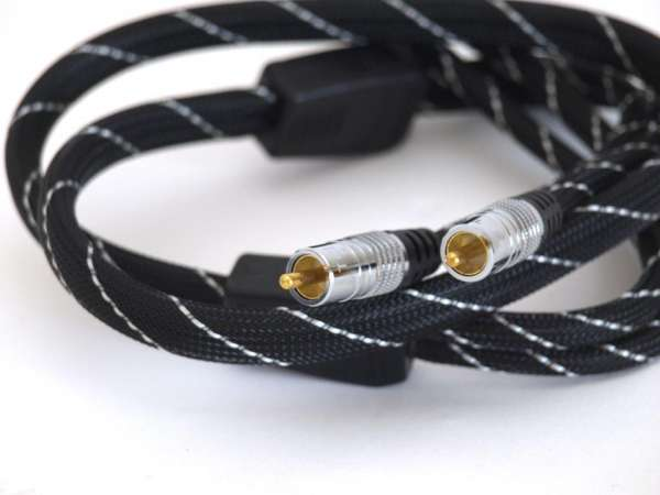 TCI Cables ASP High-End HIFI Cinch-Kabel RCA-RCA 1m