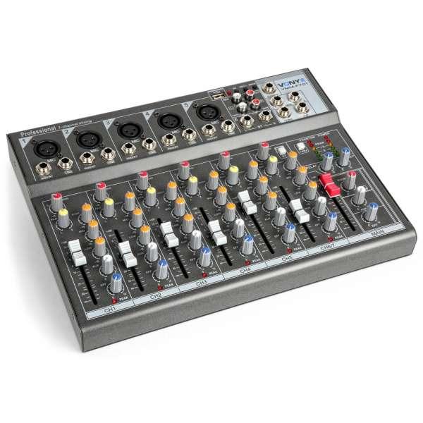 Vonyx VMM-F701 7-Kanal Musik Mixer