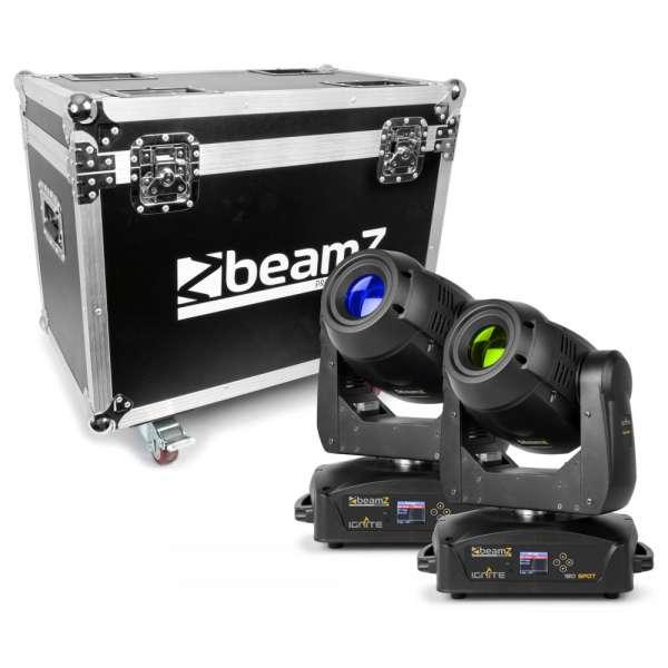 BeamZ Professional IGNITE180 Spot SET 2 Stück im Flightcase