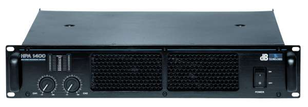dB Technologies HPA 1400 Endstufe Amplifier