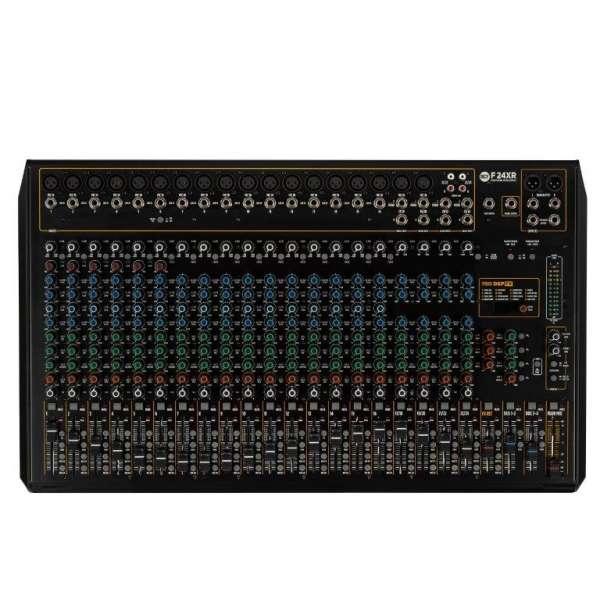 RCF F 24XR 24-Kanal Mixer mit Multieffekt und Recording Funktion