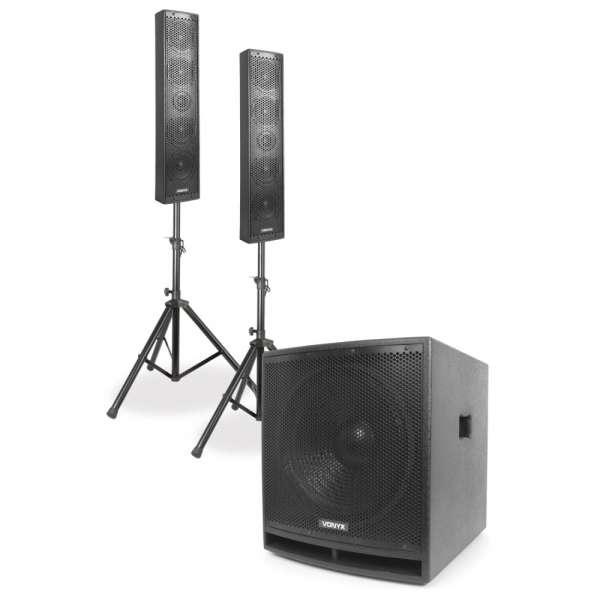 Vonyx VX880BT 2.1 Aktiv Lautsprecherset