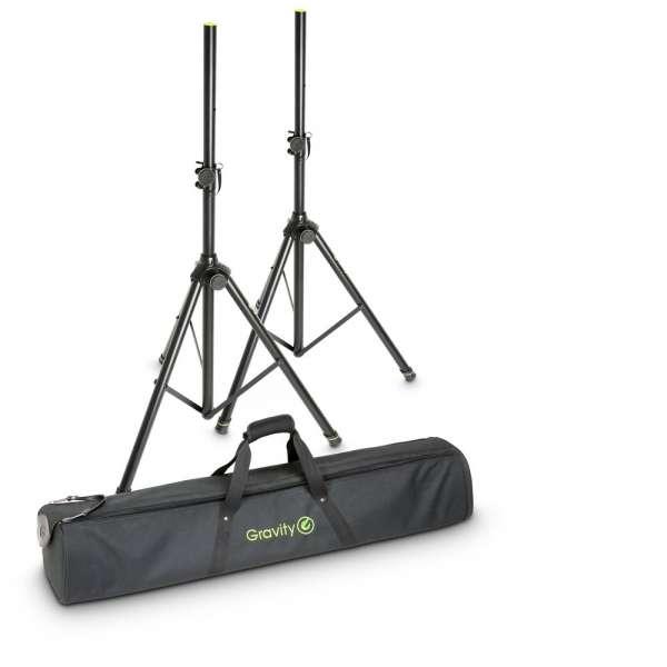 Gravity SS 5211 B SET 1 Set aus 2 Boxenständern mit Tasche