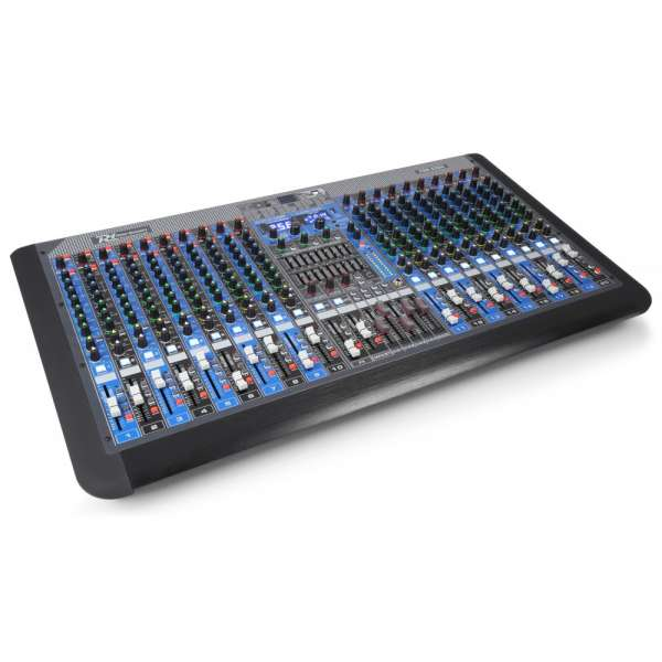 Power Dynamics PDM-S2004 20-Kanal Doppel Funktion Mixer