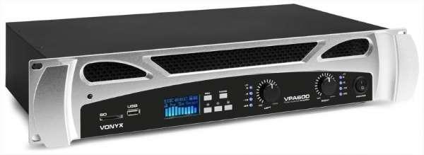 Vonyx VPA 600 Verstärker mit Bluetooth / USB / SD