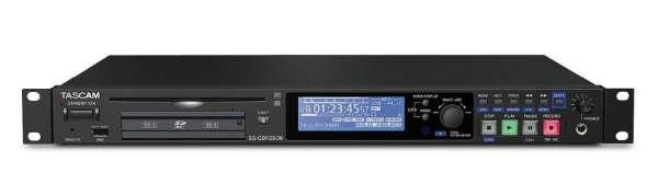 SS-CDR250N - Netzwerkfähiger Solid-State-/CD-Audiorecorder